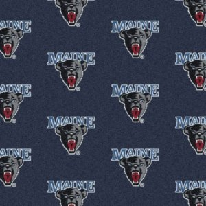 Maine Black Bears Area Rug