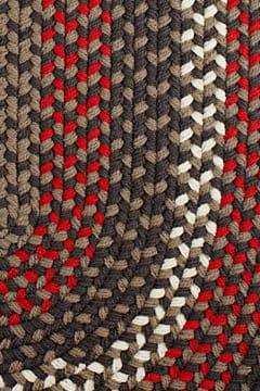 Rhody Velvet Braided Area Rug