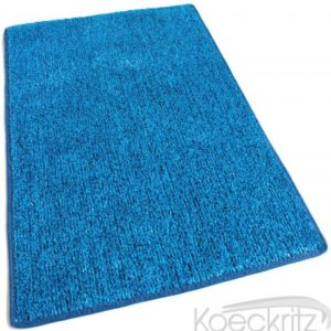 Marina Blue Indoor-Outdoor Artificial Grass Turf Area Rug Carpet