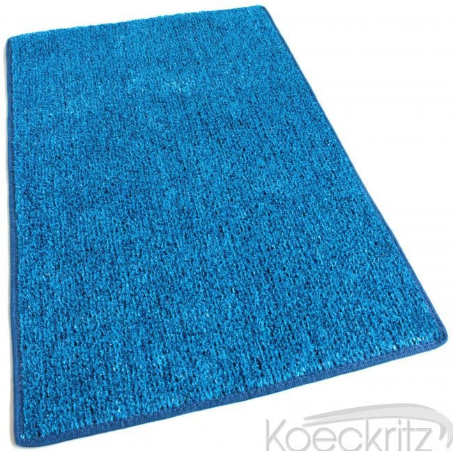 Marina Blue Indoor Outdoor Artificial Grass Turf Area Rug