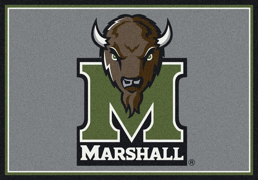 Marshall Thundering Herd Area Rug Ncaa Thundering Herd