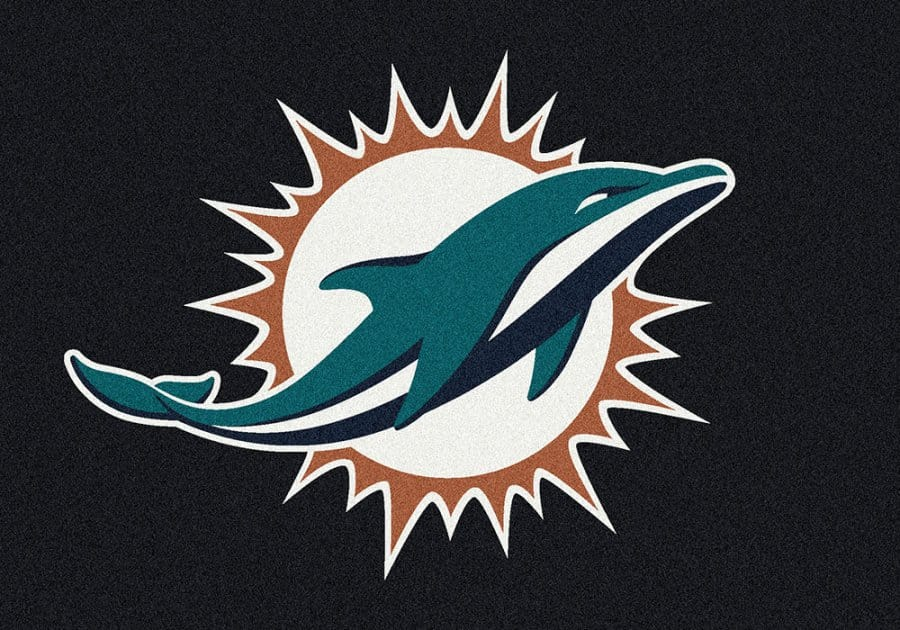 miami door fanmats vinyl amazon automotive nfl mat rug dolphins dp com