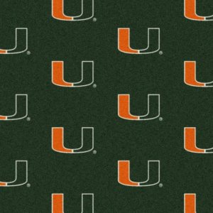 Miami Hurricanes Area Rug