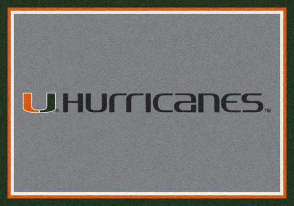 Miami Hurricanes Area Rug