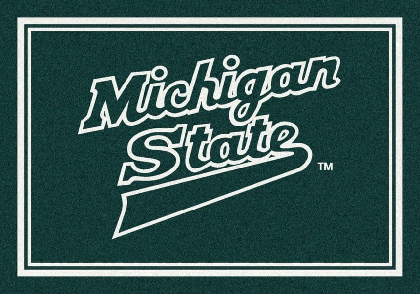 Michigan State Spartans Area Rug | NCAA Spartans Area Rugs