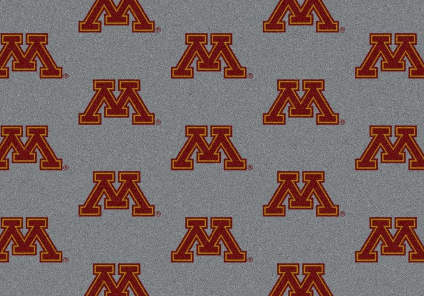 Minnesota Golden Gophers Area Rug Ncaa Golden Gophers