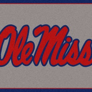 Ole Miss Rebels Area Rug