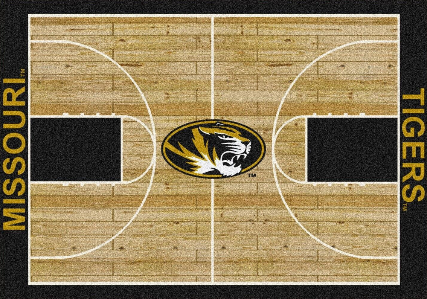 Missouri Tigers Area Rug