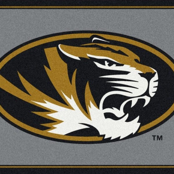 Missouri Tigers Area Rug Ncaa Tigers Area Rugs