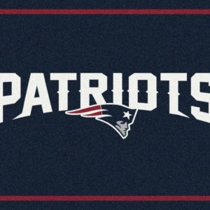 New England Patriots Area Rug
