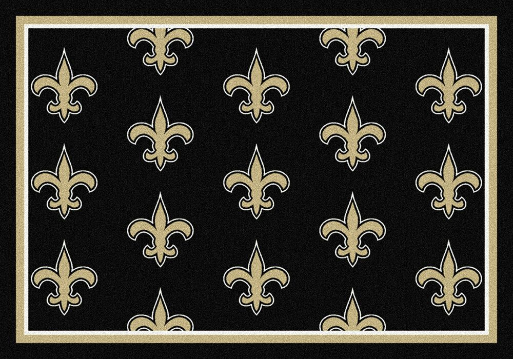 New Orleans Saints Area Rug Nfl Team Repeat