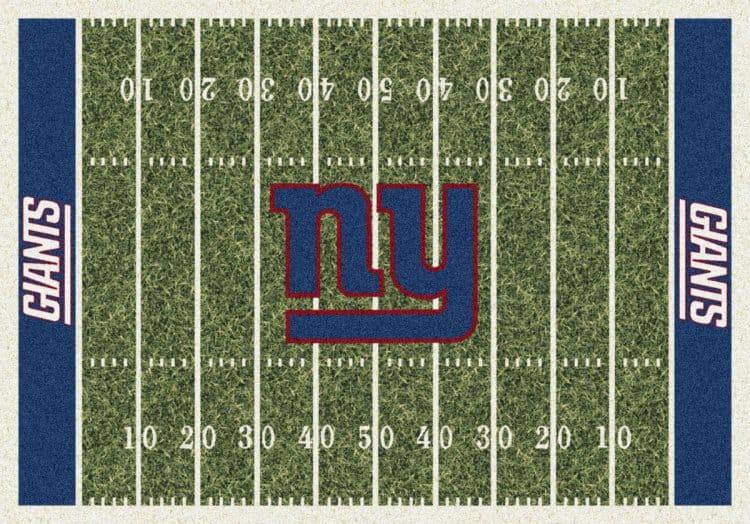 New York Giants Homefield Area Rug