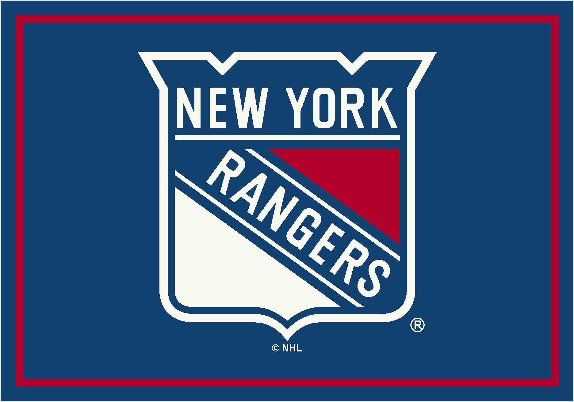 New York Rangers Area Rug Nhl Rangers Area Rugs