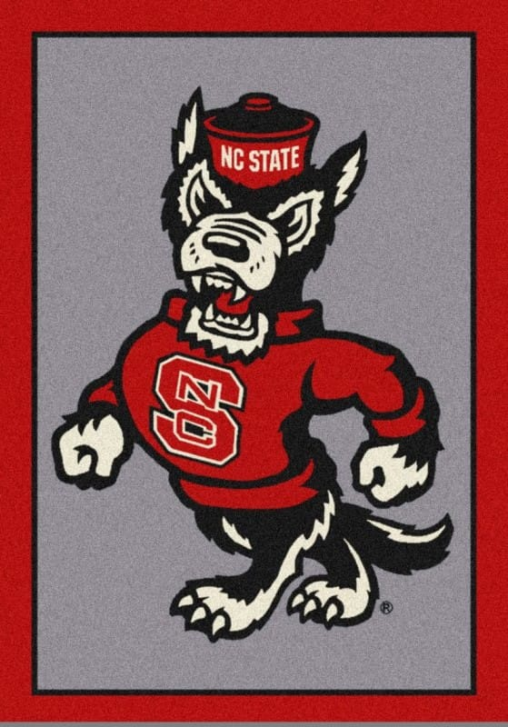 North Carolina State Wolfpack Area Rug Ncaa Wolfpack