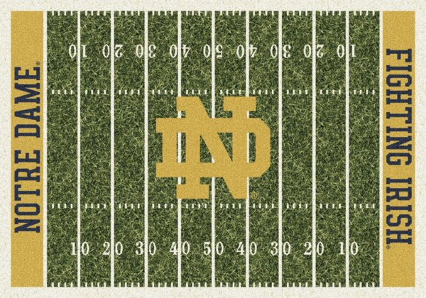 Notre Dame Fighting Irish Area Rug