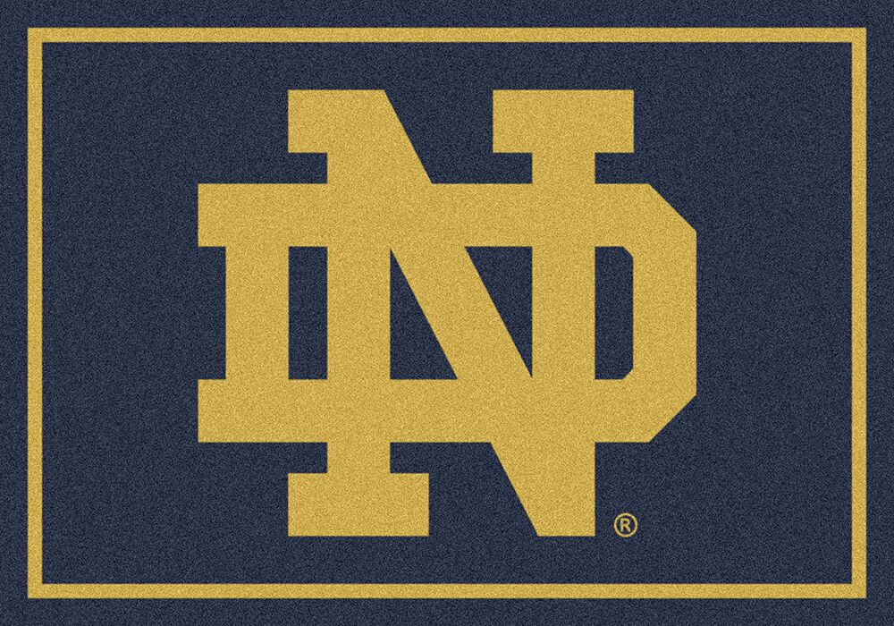 Notre Dame Fighting Irish Area Rug Ncaa Fighting Irish