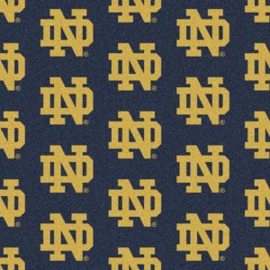Notre Dame Fighting Irish Area Rug