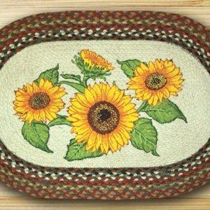 Earth Rugs Sunflowers