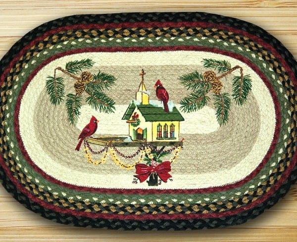 Earth Rugs Christmas Birdhouse