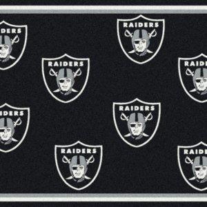 Oakland Raiders Area Rug