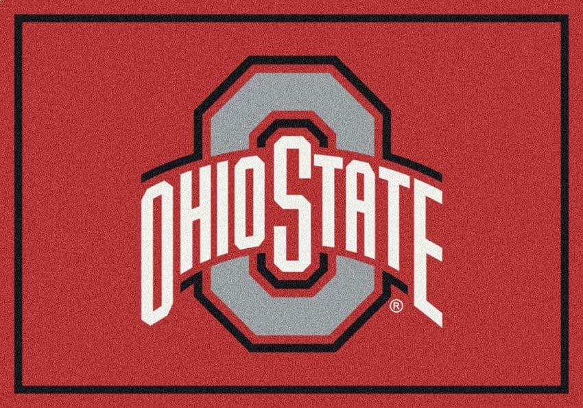 Ohio State Buckeyes Area Rug | NCAA Buckeyes Area Rugs