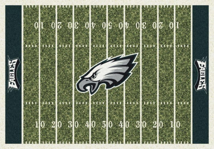 Philadelphia Eagles Area Rug Nfl Eagles Area Rugs