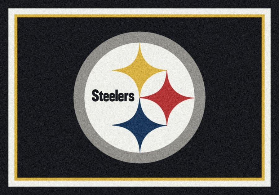 Pittsburgh Steelers Area Rug Nfl Team Spirit