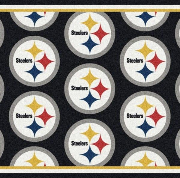 Pittsburgh Steelers Area Rug Home Decor