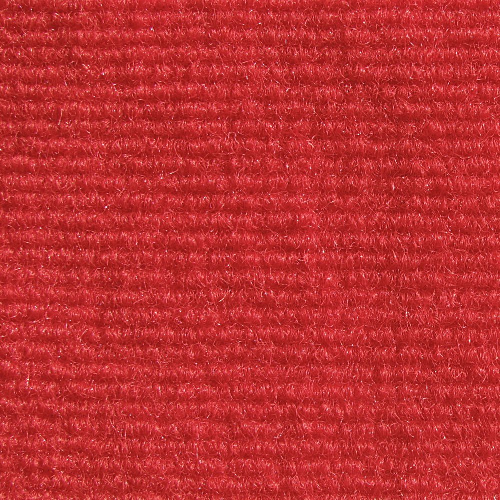 Bright Red Indoor Outdoor Olefin Carpet Area Rug