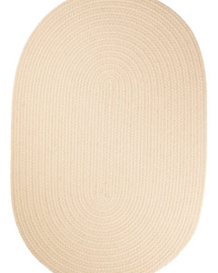 Rhody Cream Braided Area Rug