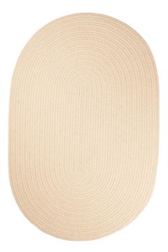 Rhody Cream Braided Area Rug