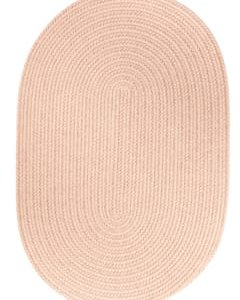 Rhody Beige Braided Area Rug