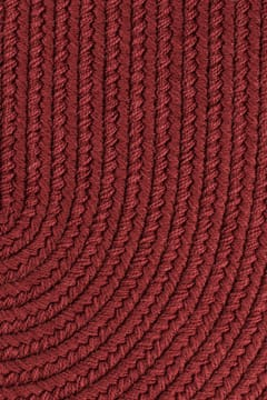 colonial red color rug