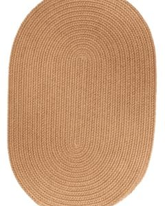 Rhody Camel Braided Area Rug