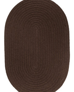 Rhody Brown Braided Area Rug