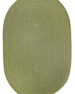 Rhody Olive Braided Area Rug