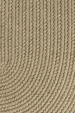Rhody Moss Braided Area Rug Solid Color S0 35