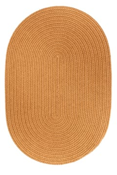 Rhody New Gold Braided Area Rug
