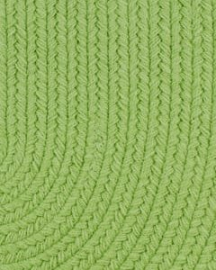 key lime color rug