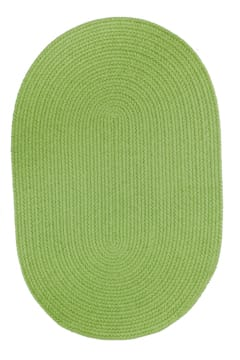 Rhody Key Lime Braided Area Rug