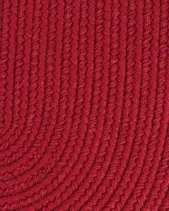 brilliant red color rug