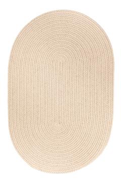 Rhody Pumice Braided Area Rug
