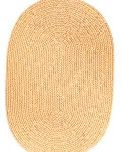 Rhody Wheat Braided Area Rug