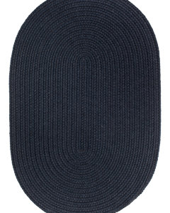 Rhody Navy Braided Area Rug