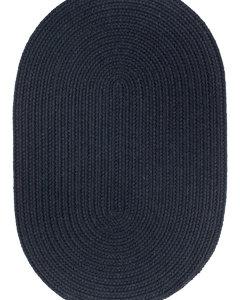 Rhody Navy Braided Area Rug