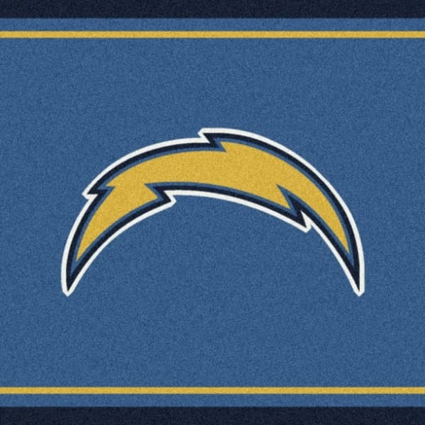 San diego chargers area rug nfl chargers area rugs