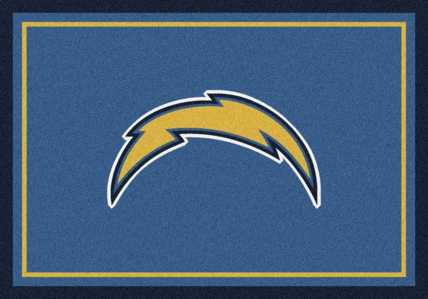 Los Angeles Chargers Area Rug Nfl Chargers Area Rugs