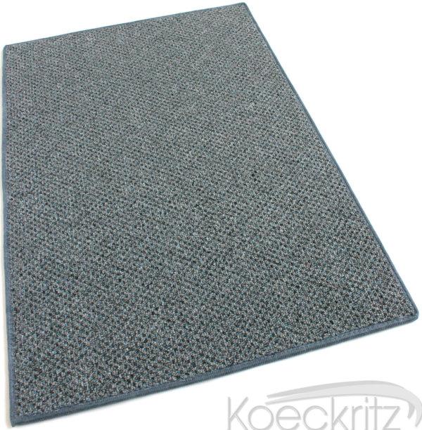 Buena Vista Shale Grey Graphic Loop Indoor-Outdoor Area Rug Carpet