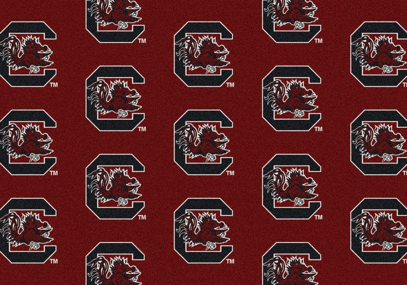 South Carolina Gamecocks Area Rug Ncaa Gamecocks Area Rugs