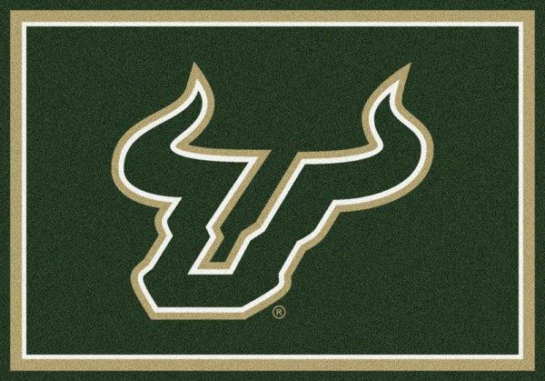 South Florida Bulls Area Rug